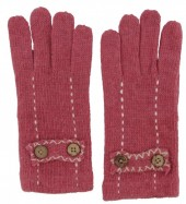 S-B3.4 TR-2013 Gloves with Buttons Pink