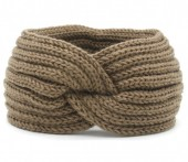 R-O3.2 H114-001 Knitted Headband Brown