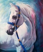 R-L3.2 GX560 Diamond Painting Set Horse 40x30cm