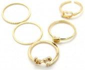 C-C20.4  R426-004G Ring Set 5pcs Gold #19
