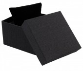 Y-D4.1 Giftbox With Cussion for Watches and Bracelets 9x9x6cm Dark Grey