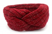 S-I3.3 H401-010C Knitted Headband Red