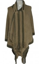 Z-E3.3 Luxury Poncho Brown