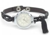 C-B22.1 W016-005 Trendy Watch with Tassel Black
