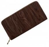 Q-D7.1 Wallet Wood Look 19x10cm