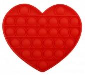 Pop it Heart - Red