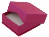 X-M1.2  Luxury Giftbox for Earrings 6.5x6.5x2.8cm Pink 10pcs