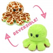Y-F2.1 T2109-001 Reversible Octopus Green-BrownY-F2.1 T2109-001 Reversible Octopus Green-Brown