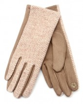 Q-O8.2 GLOVE403-096B Gloves Brown