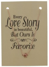 F-B20.1  Giftset with Necklace Rose Gold Skull