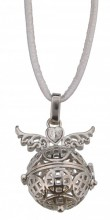E-E7.4 Angel Catcher with Wings 16mm Silver