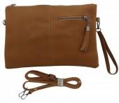 Q-A4.2  BAG014-003 Brown PU Bag 32x21cm