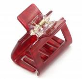 X-M6.2 H514-049C Hair Clip 5x3x4cm Red