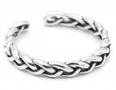 E-E20.5  SR104-143 925S Silver Ring Adjustable Chain