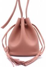 Q-A2.2 BAG417-011B PU Pouch Bag Pink
