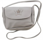 S-D2.2 BAG015-005 Shoulder Bag Star Grey 20x16x6cm