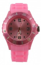 A-D17.3 Watch with Rubber Band 40mm Pink