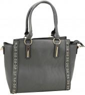 Y-F1.2 BAG121-001 Luxury PU Bag Grey