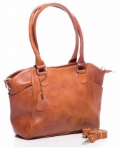 Q-K2.2 BAG-788 Luxury Leather Bag 39x24x10cm Cognac
