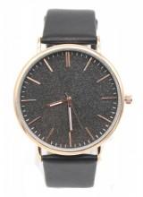 B-C16.3 WA422-001 Quartz Watch with Glitters 43mm Black