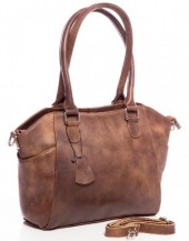 Q-B1.2 BAG-788 Luxury Leather Bag 39x24x10cm Brown