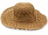 Z-A2.2 HAT211-001A Summer Hat Woven Brown