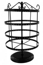 Y-B5.2 Metal Earrings Mill Black 35x20cm