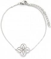 C-D7.1 B016-005 Stainless Steel Bracelet Geometric Silver