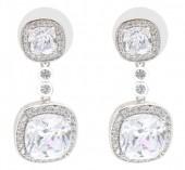 B-F5.1 E101-002 Luxury Earrings with Cubic Zirconia