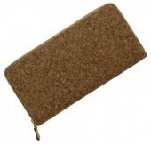 Q-D4.2 Wallet Cork Look 19x10cm