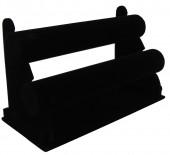 Z-C3.4 Display 2 Layers Velvet 27x18x15cm Black