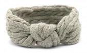 S-J3.4  H401-009C Knitted Headband Grey