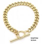 E-D8.3 B220-039G S. Steel Bracelet Chain Small Size 16.5cm