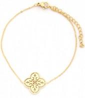 C-D7.3  B016-005 Stainless Steel Bracelet Geometric Gold