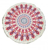 Beach Towel - Roundie BT09-022 150cm plus tassels