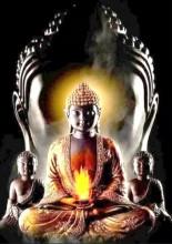 Q-M7.1  X296 Diamond Painting Set Buddha 40x30cm