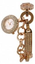 E-E11.2 Quartz Watch with Crystals Rose GoldE-E11.2 Quartz Watch with Crystals Rose Gold
