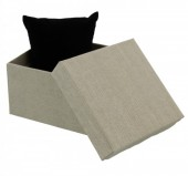 Y-F3.1 Giftbox with Cussion Light Grey 9x9x6cm