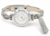 H-A16.1 W016-005 Trendy Watch with Tassel Grey