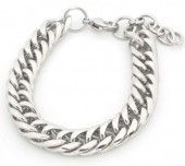 B126-006 Stainless Steel Chain Bracelet