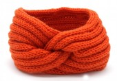 Q-K7.1 H401-001B Knitted Headband Orange