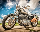 R-L7.1  GX561 Diamond Painting Set Motorcycle 40x30cm