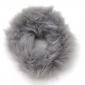 S-E3.1  H414-002 Scrunchie Fluffy Grey