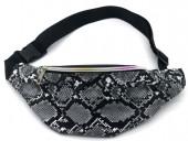 Y-A6.2 BAG524-002B PU Waist Bag Snake Grey