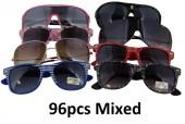 Z-D6 Mixed Designs and Colors Sunglasses 96pcs