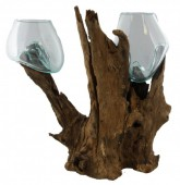 P-B1.1  Wood With Glass Double 1pcs