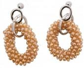 A-E18.1 Facet Glass Beads E007-003 Champagne 5x2.5cm