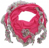 T-H1.2    Triangle Scarf Pink