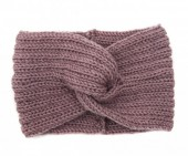 S-A5.1 H006-002 Knitted Headband Pink