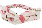 B-A14.6 Headband with Flamingo White